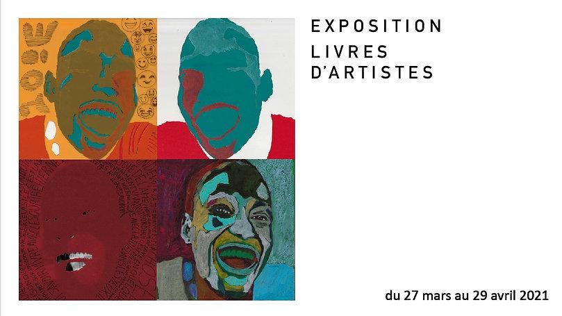 "Exposition ""livres d'artistes"""