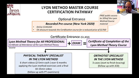 LYON Method Course Certification Pathway