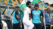 India Win at The Gabba