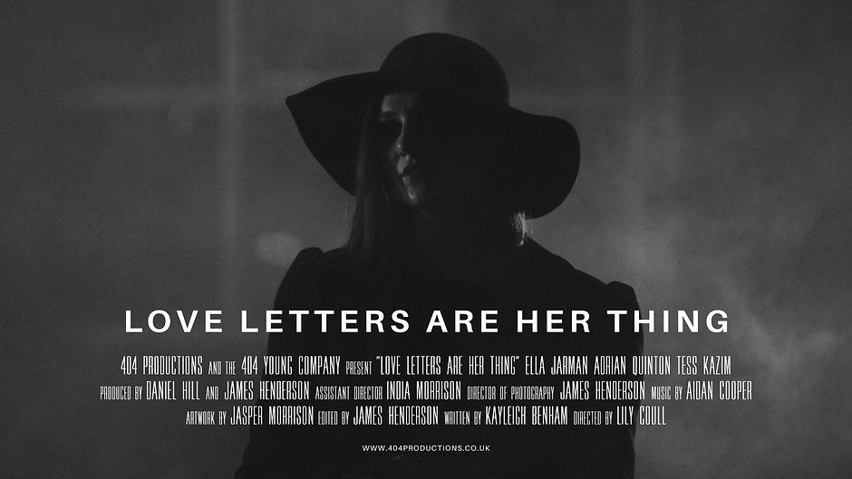 Love Letters are Her Thing