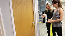 Door Theraband Exercise for Core Stabilization and the Physical Therapy Tweak