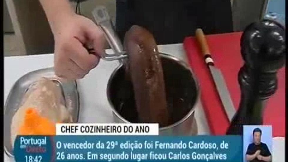 Chefe Cozinheiro do Ano 2018  Reportagem RTP  Portugal em Directo