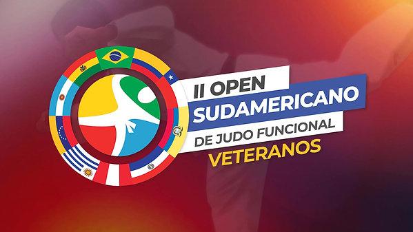II Open Sudamericano de Judô Funcional Veteranos