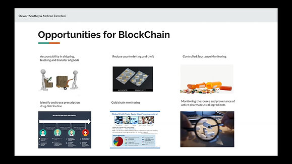 Supply Chain Challenges in Pharma & Blockchain