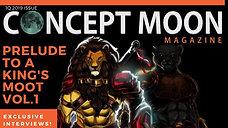 Concept Moon Magazine #1 promo 2