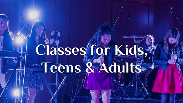Packages in Acting, Runway, Musical Theatre, Hip Hop, Group Guitar and Ukulele
