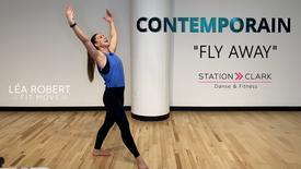 """Contemporain """"FLY AWAY"""""""