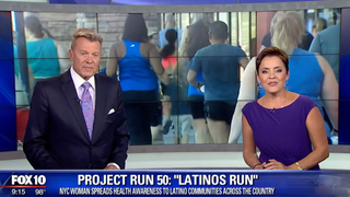 Fox 10 Phoenix Latinos Run aims to spread health awareness to Latino communities