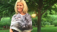 How to Tie A Scarf by Shelly from her Garden