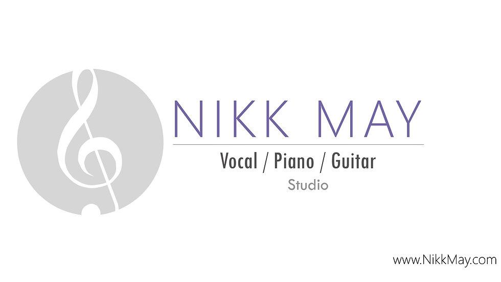 Nikk May: Private Studio For Voice / Piano / Guitar (Student Reel)