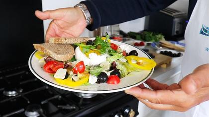 Tomato and Mozzarella Salad by Tommaso