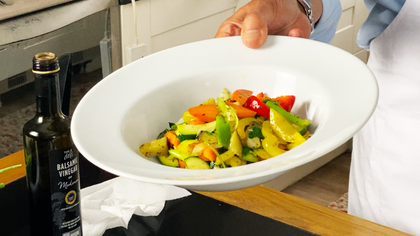 Mediterrenean Vegetable Medley with Tommaso