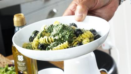 Pesto Pasta with Tommaso