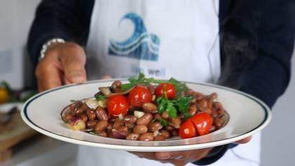 Borlotti beans with Tomatoes by Tommaso