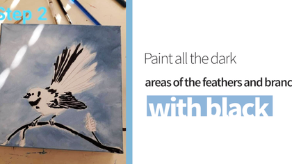 Bird Painting with Sarah O'Brien