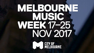 Melbourne Music Week 2017 - Hub Reveal