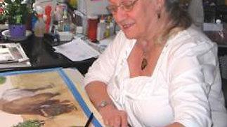 Joyce Samuel's Studio 2 Abingdon  Arts Depot
