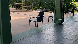 Fitness Class Outdoor Area