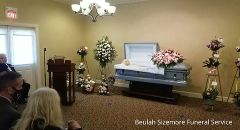 Beulah Sizemore Funeral Service