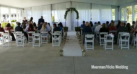 Moorman/Hicks Wedding