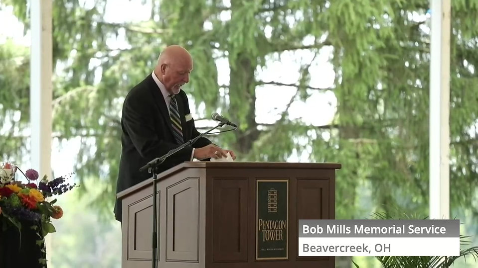 Bob Mills Memorial Service