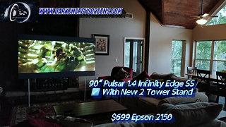 DE Pulsar 1,4 Infinity Edge SS W/2 Tower Stand