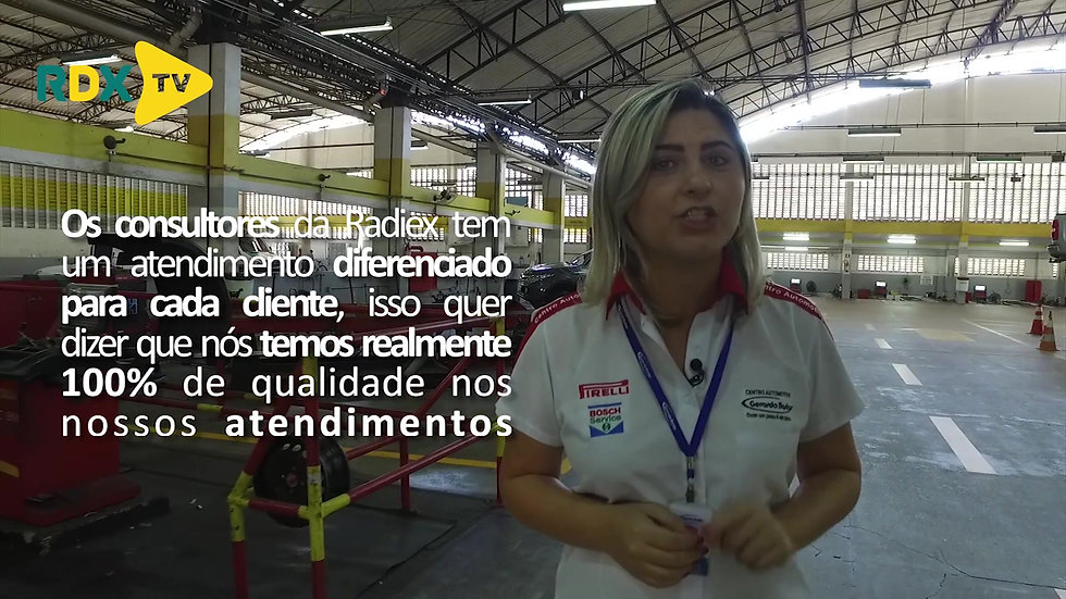 RDX TV Empresa Parceira - Gerardo Bastos Fortaleza