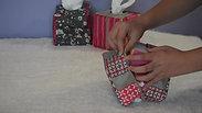 Utilisation boite à mouchoirs carré zip