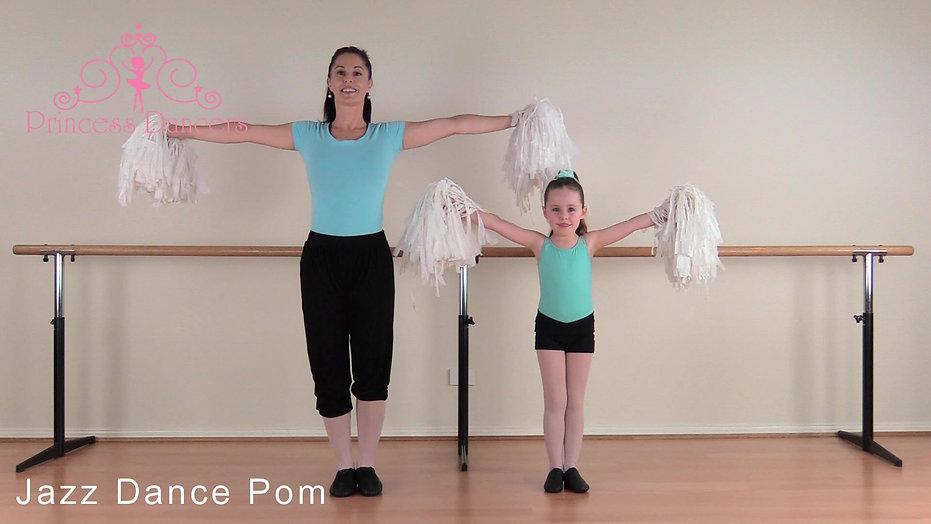 Princess Jazz - Jazz Dance Poms