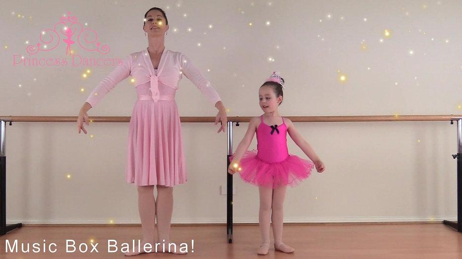 Princess Ballet - Music Box Ballerina