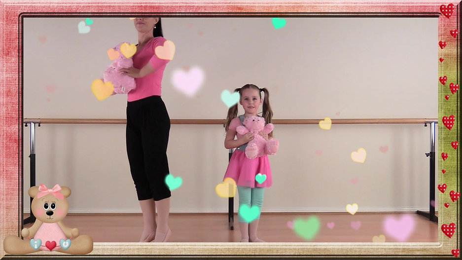 Princess Creative - Teddy Bear Dance!