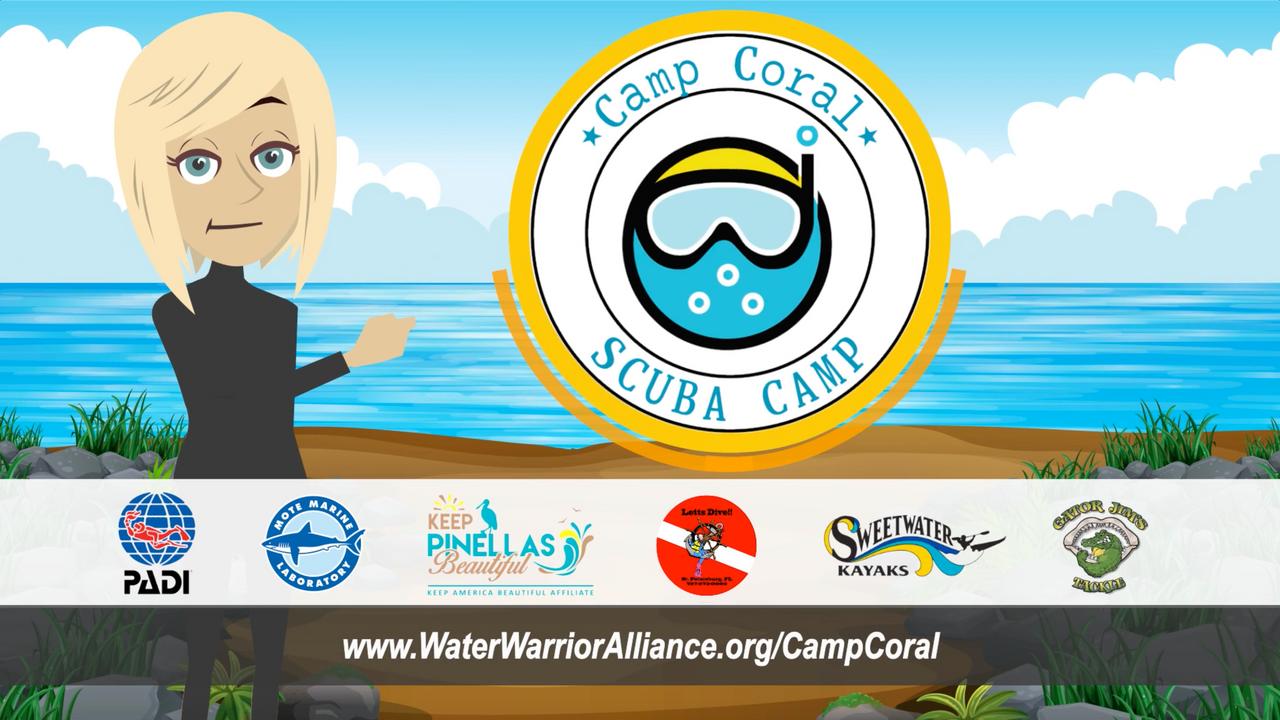 Camp Coral 2021 SCUBA Camp