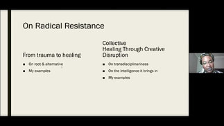 On Radical Resistance & Transdisciplinary Intelligence - with Chesline Pierre-Paul