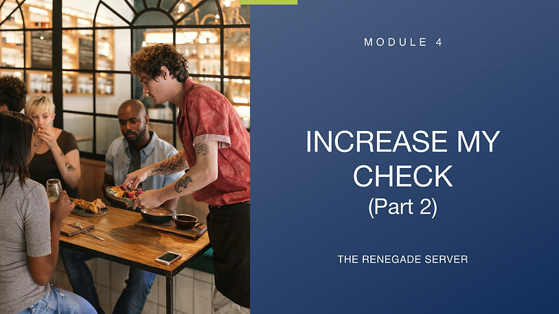 Module 4 Increase My Check (Part 2)