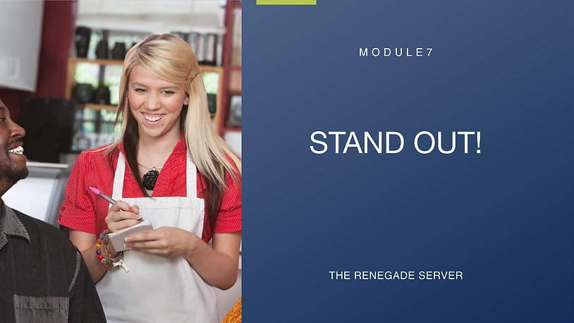 Module 7 Stand Out