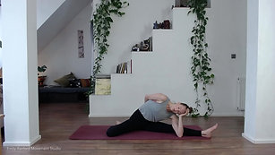 10 minutes to breathe, stretch out and center