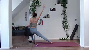 Pilates  – Awaken the spinal extensors, core, and adductors for supported posture