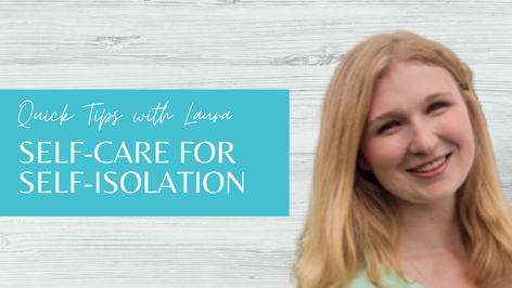 Self-Care for Self-Isolation
