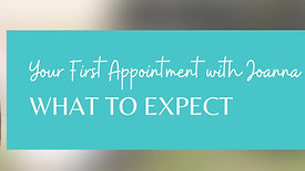 Your First Appointment: What to Expect