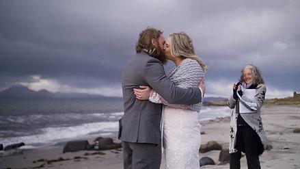 Abby & Dan's beach elopement