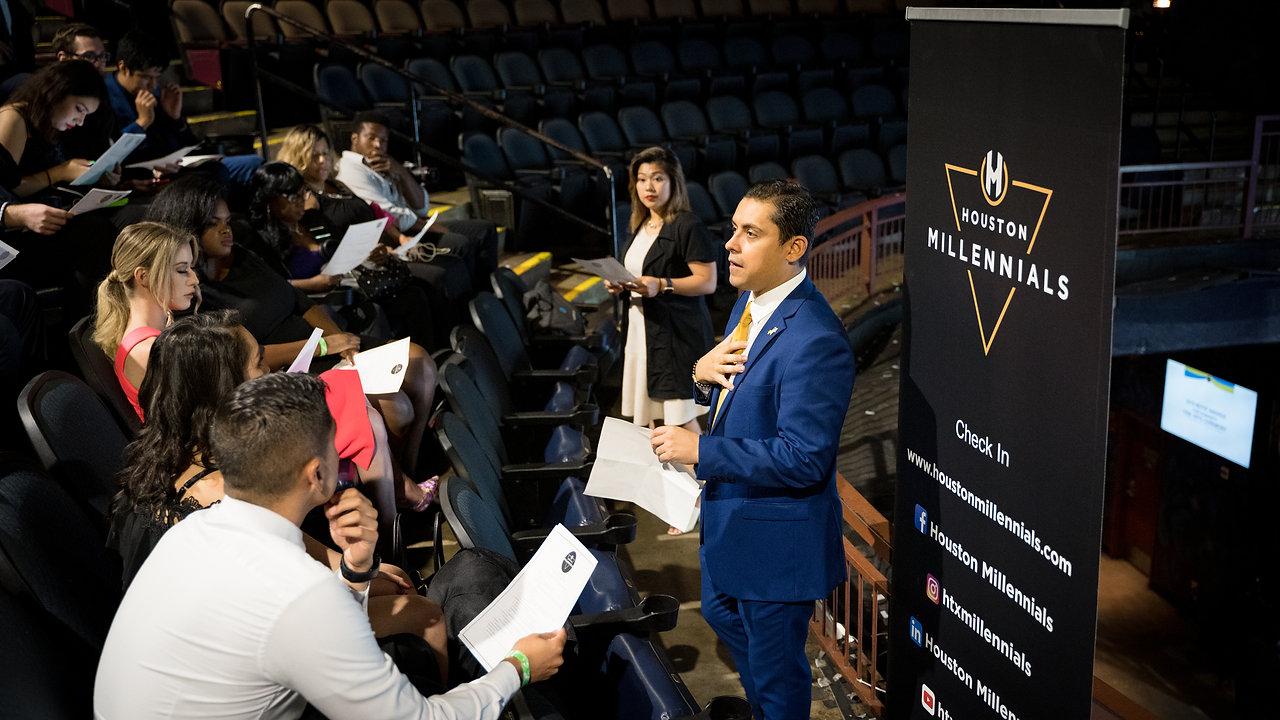 Houston Millennials Motif Award