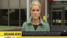 27.7 Sky News - inquiry report bulletin (12.00)