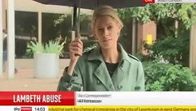 27.7 Sky News - Sarah-Jane Mee report (14.00)