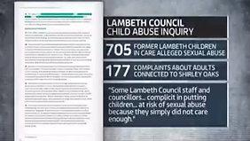 27.7 ITV News - lambeth counci linquiry report (22.00)