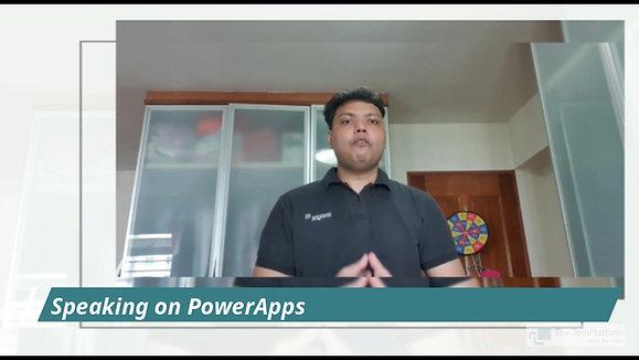 Watch Aroh Shukla speaking on POWER APPs at The Tech Platform Talks Academy