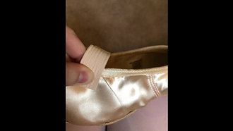Pointe Shoes Preparation Part I