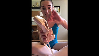 Pointe Shoes Preparation Part II