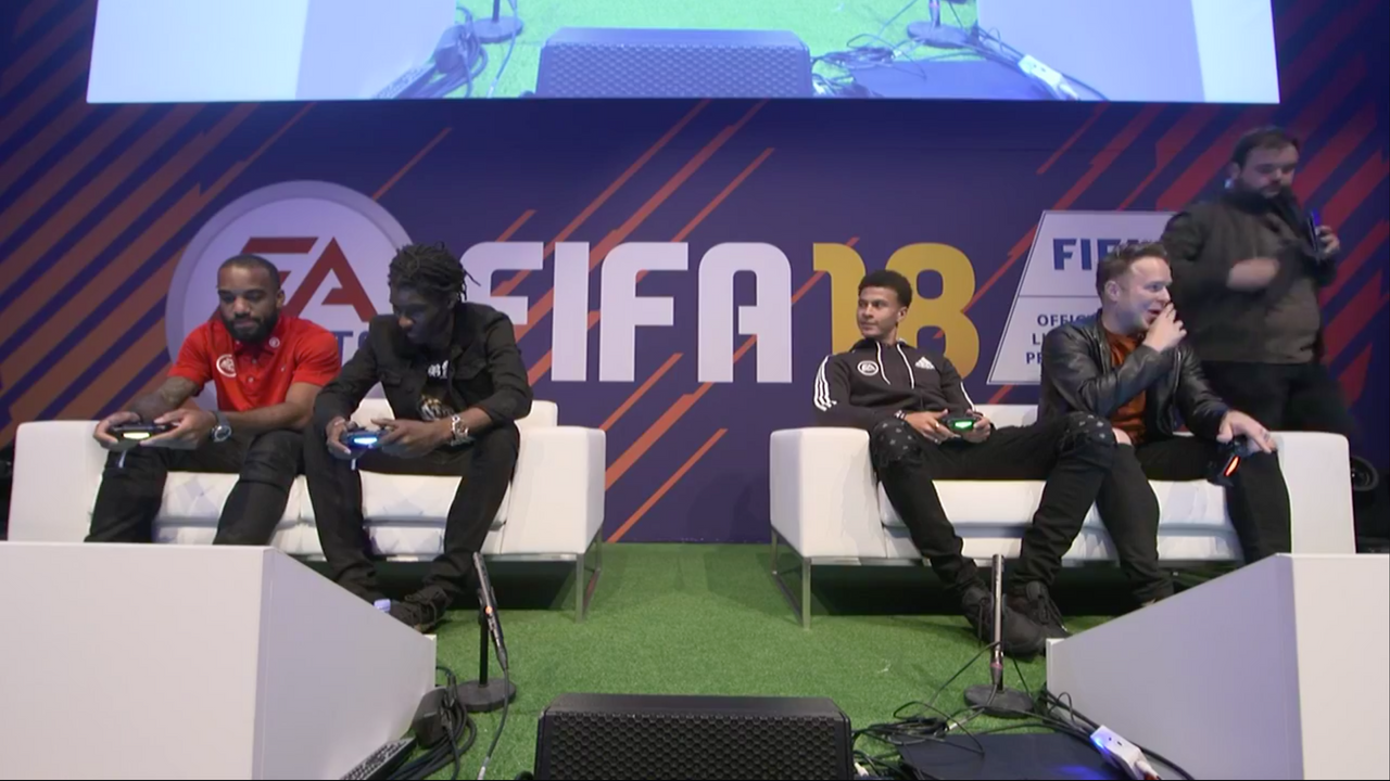 FIFA 18 Launch Event