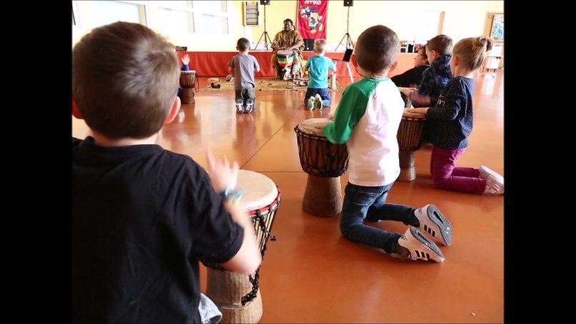Atelier percussions