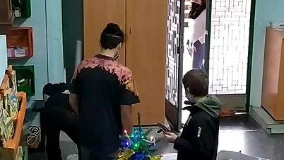 Facciamo l'albero di Natale con l'oratorio
